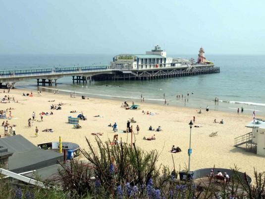 Las playas de Bournemouth
