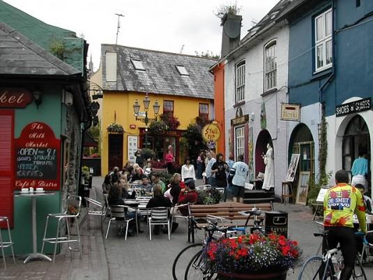 Cafeterías y terrazas irlandesas