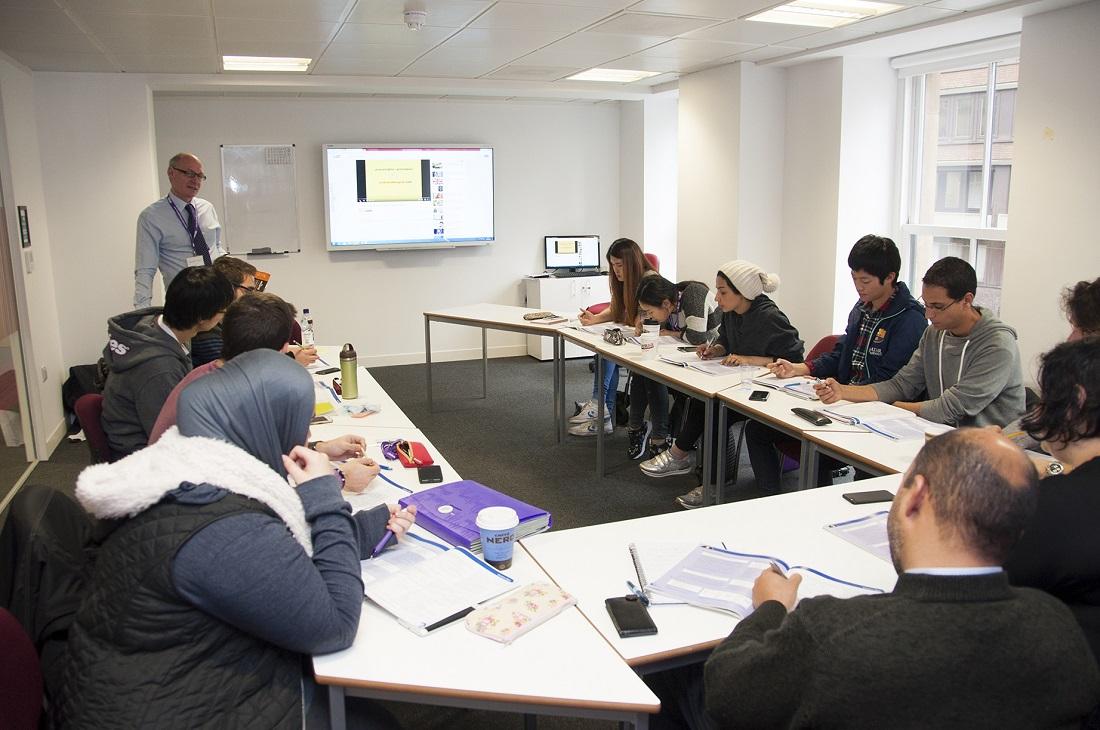 Curso de inglés en Manchester, en un ambiente internacional