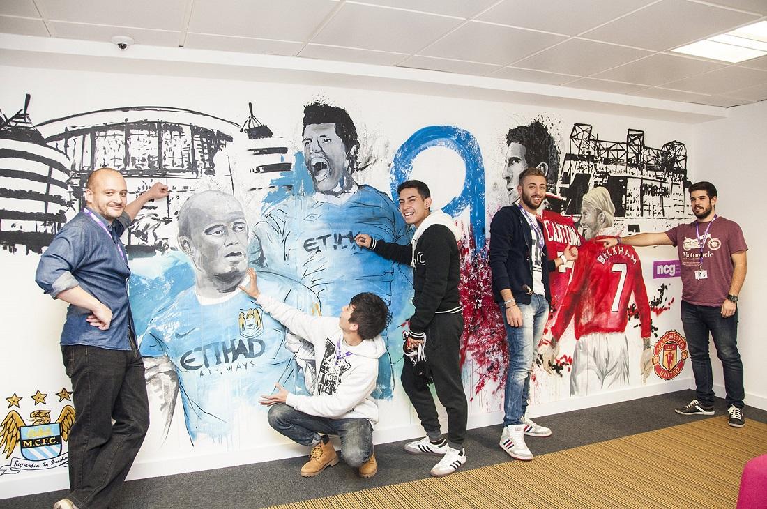 Manchester, en un ambiente internacional