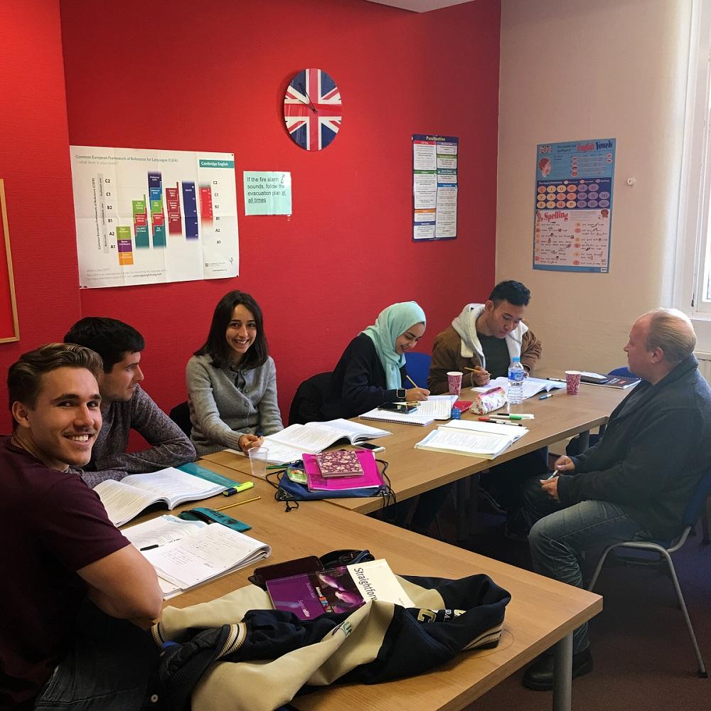 Aprende inglés en Manchester