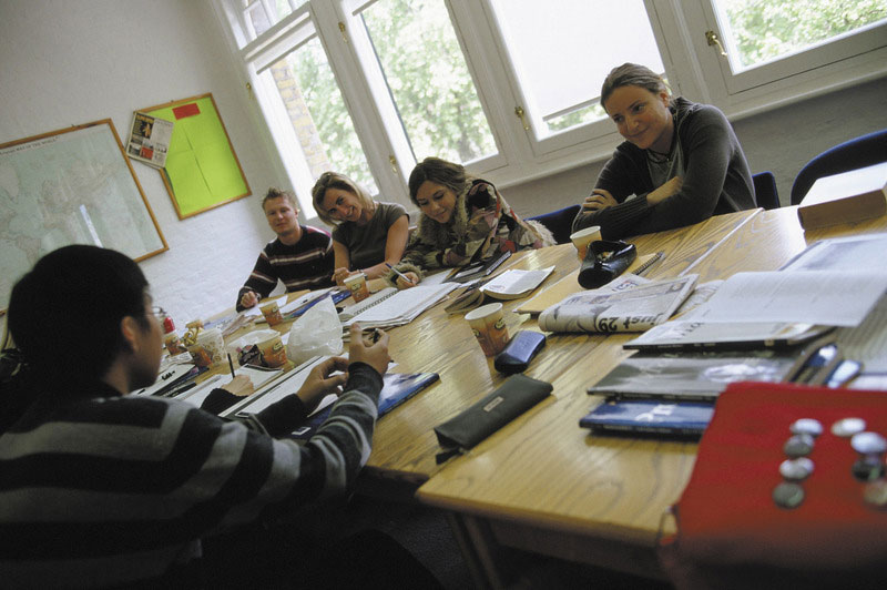 Centro de estudios aprende inglés en Londres centro