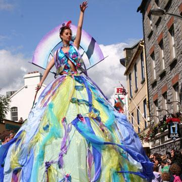 Disfruta del festival de Galway