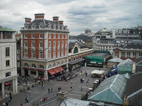 Paseo por Covent Garden