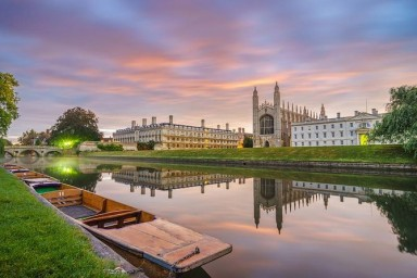 Estudiando en Cambridge