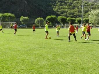 Campamento de verano de fútbol en Irlanda