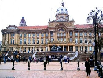 Victoria Square en Birmingham