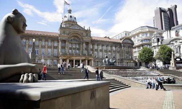 la plaza más visitada de Birmingham