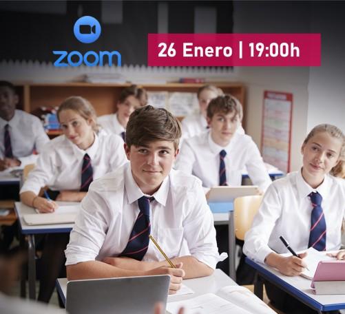 Reunión informativa online por ZOOM de Año escolar en el extranjero