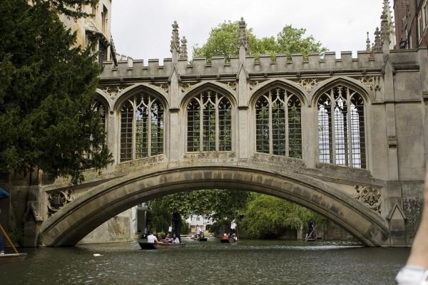 Paseo por los puentes de Cambridge