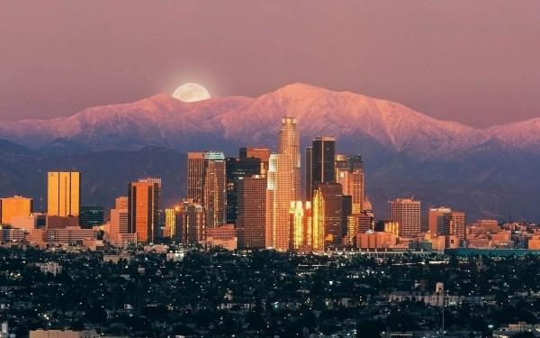La ciudad de Los Angeles