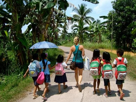 Escuela en zonas rurales